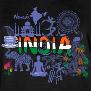 Welcome to India Purple Shirt - Women's Vintage Sport T-Shirt