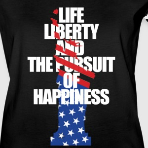 Lady, Liberty, and the Pursuit... - Women's Vintage Sport T-Shirt