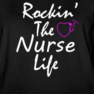 Rocking the Nurse life - Women's Vintage Sport T-Shirt