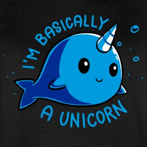 I m Basically a Unicorn - Women's Vintage Sport T-Shirt