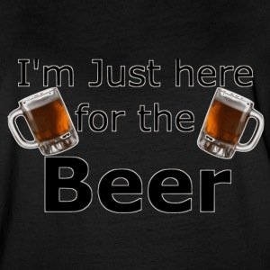 I'm Just here for the beer - Women's Vintage Sport T-Shirt