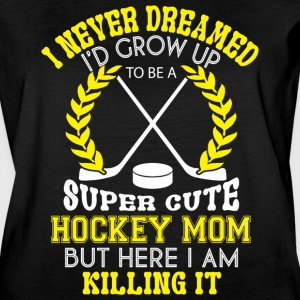 Hockey Mom T Shirt - Women's Vintage Sport T-Shirt