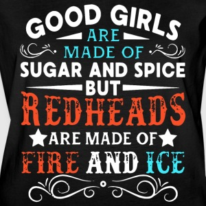 Good girls are made of sugar and spice but redhead - Women's Vintage Sport T-Shirt