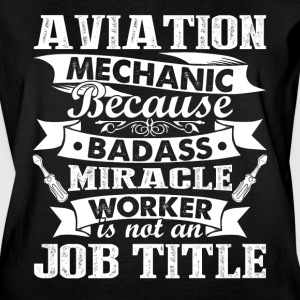Aviation Mechanic Shirt - Women's Vintage Sport T-Shirt