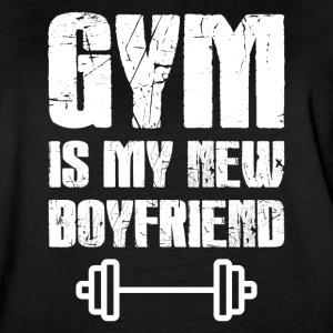 Gym Is My New Boyfriend - Women's Vintage Sport T-Shirt