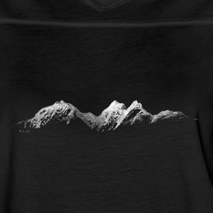 Mountains at Night - Women's Vintage Sport T-Shirt
