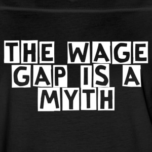 The wage gap is a myth - Women's Vintage Sport T-Shirt