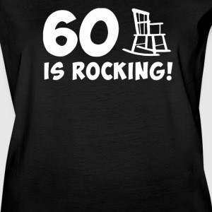 60 is Rocking - Women's Vintage Sport T-Shirt