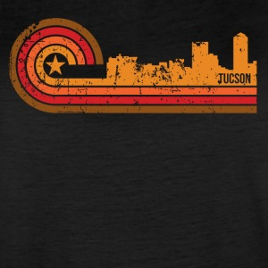 Retro Style Tucson Arizona Skyline Distressed - Women's Vintage Sport T-Shirt