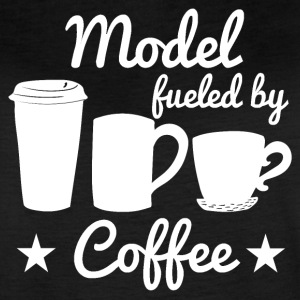 Model Fueled By Coffee - Women's Vintage Sport T-Shirt