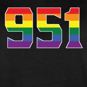 Gay Pride 951 Riverside Area Code - Women's Vintage Sport T-Shirt