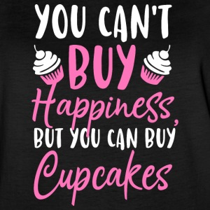 You can´t buy happiness, but you can buy cupcakes - Women's Vintage Sport T-Shirt