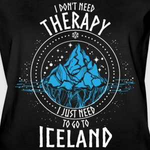 I don't need Therapy I just need to go to ICELAND - Women's Vintage Sport T-Shirt