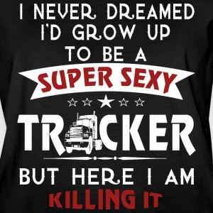 Super Sexy TRUCKER - Women's Vintage Sport T-Shirt