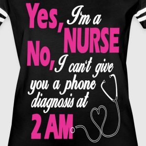YES I AM A NURSE - FUNNY NURSE GIFTS - Women's Vintage Sport T-Shirt