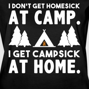 I don't get homesick at camp - Women's Vintage Sport T-Shirt