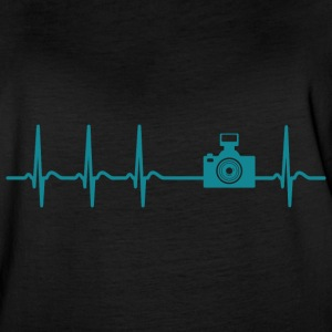 Heartbeat Photograph Camera Picture cool fun gif - Women's Vintage Sport T-Shirt