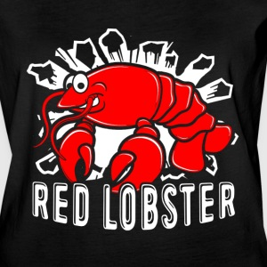 RED LOBSTER TEE SHIRT - Women's Vintage Sport T-Shirt