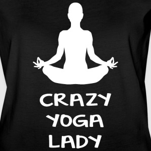 CRAZY YOGA LADY - Women's Vintage Sport T-Shirt