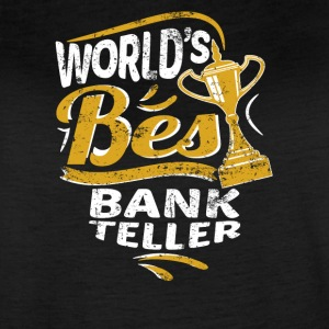 World's Best Bank Teller - Women's Vintage Sport T-Shirt