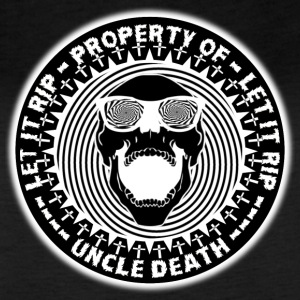 Property Of Uncle Death Let It R.I.P. - Women's Vintage Sport T-Shirt
