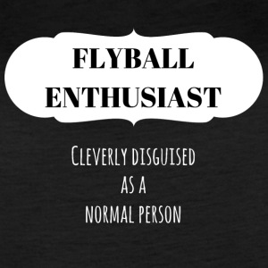 Flyball Enthusiast (light) - Women's Vintage Sport T-Shirt