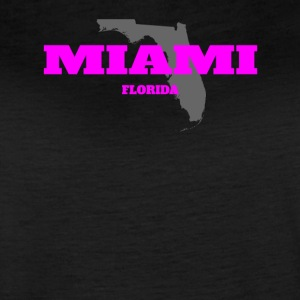 FLORIDA MIAMI US STATE EDITION PINK - Women's Vintage Sport T-Shirt