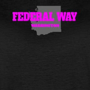 WASHINGTON FEDERAL WAY US STATE EDITION PINK - Women's Vintage Sport T-Shirt