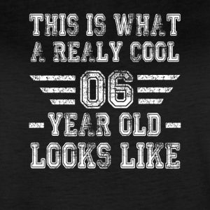 This is what a really cool 06 year old looks like - Women's Vintage Sport T-Shirt