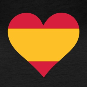 A Heart For Spain - Women's Vintage Sport T-Shirt