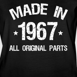 50th Birthday Made In 1967 T shirt - Women's Vintage Sport T-Shirt