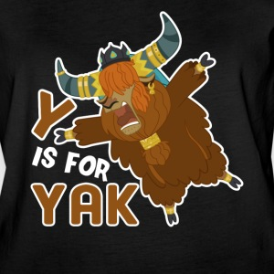 Y IS FOR YAK SHIRT - Women's Vintage Sport T-Shirt