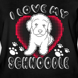 I Love My Schnoodle Shirt - Women's Vintage Sport T-Shirt