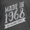 VT222_ Made in 1968 all o - Women's Vintage Sport T-Shirt