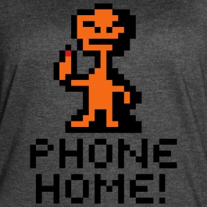 E.T. The Extraterrestrial Phone Home! Pixel Art - Women's Vintage Sport T-Shirt