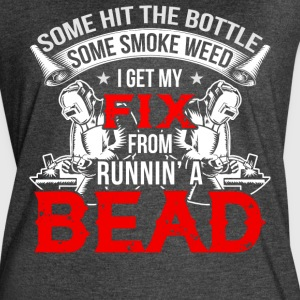 I Get My Fix From Running A Bead T Shirt - Women's Vintage Sport T-Shirt