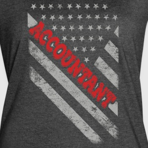 Accountant Flag - Women's Vintage Sport T-Shirt