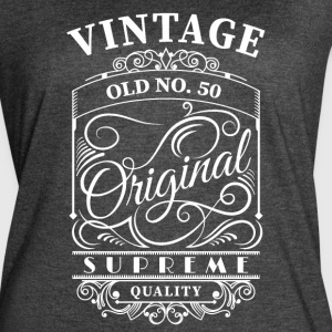 Vintage old no 50 - Women's Vintage Sport T-Shirt