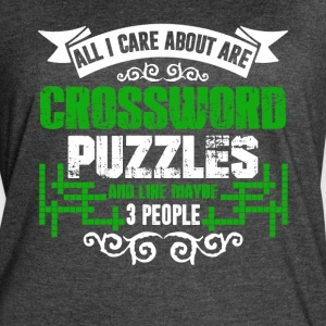 Crossword Puzzles Shirts - Women's Vintage Sport T-Shirt
