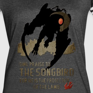 The songbird - Women's Vintage Sport T-Shirt