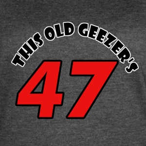 47 birthday design - Women's Vintage Sport T-Shirt