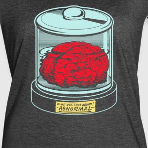 AbNormal do not use this brain - Women's Vintage Sport T-Shirt