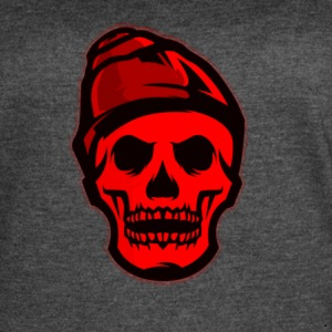 RED Skeleton HaHaHaHa - Women's Vintage Sport T-Shirt
