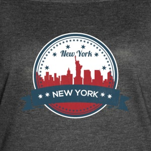 New York City Skyline - Women's Vintage Sport T-Shirt