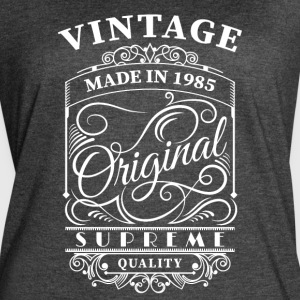 vintage made in 1985 - Women's Vintage Sport T-Shirt