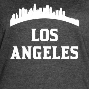 Vintage Style Skyline Of Los Angeles CA - Women's Vintage Sport T-Shirt