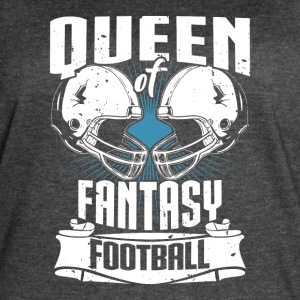 Queen Of Fantasy Football Fantasy Sports - Women's Vintage Sport T-Shirt