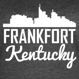 Frankfort Kentucky Skyline - Women's Vintage Sport T-Shirt
