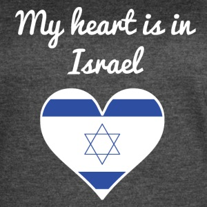 My Heart Is In Israel - Women's Vintage Sport T-Shirt