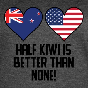 Half Kiwi Is Better Than None - Women's Vintage Sport T-Shirt